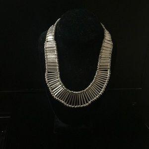 Chicos silver necklace